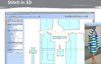 3D Technology for Fashion Sample Development