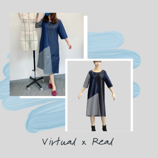Real x Virtual Fashion Sample: Showcasing how digital technologies accelerate the process of product development
