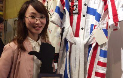 毅進文憑學員蔡家玲於《棚呈–時裝設計比賽》(學生組)榮獲亞軍