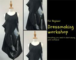 創辦工坊 – 服裝技術設計系列 – 連身裙製作