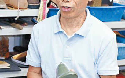 Oriental Daily – Interview of Footwear Instructor Mr. Ma
