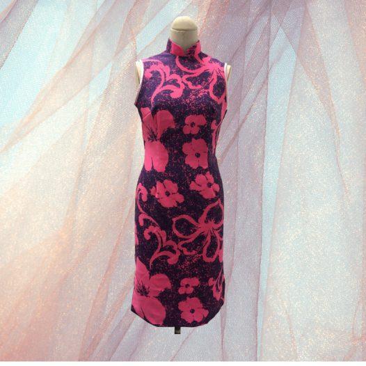 簡單現代版旗袍裁製