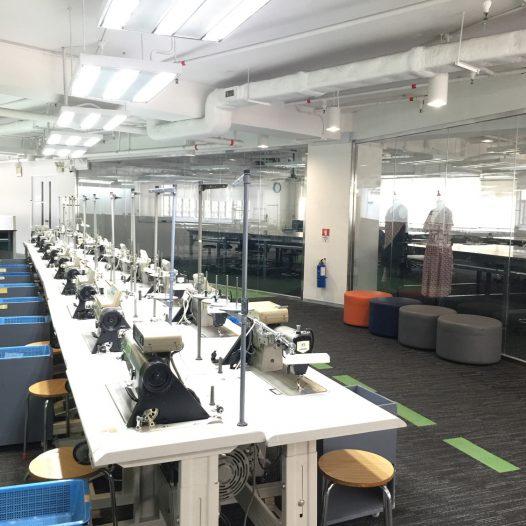 製衣業訓練局5樓設施概覽