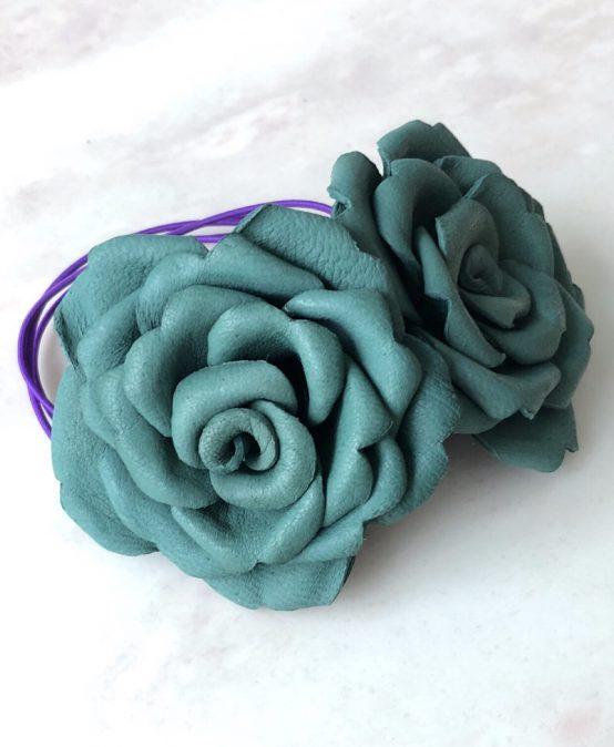 "Free workshop "" Leather Craft (flower) """