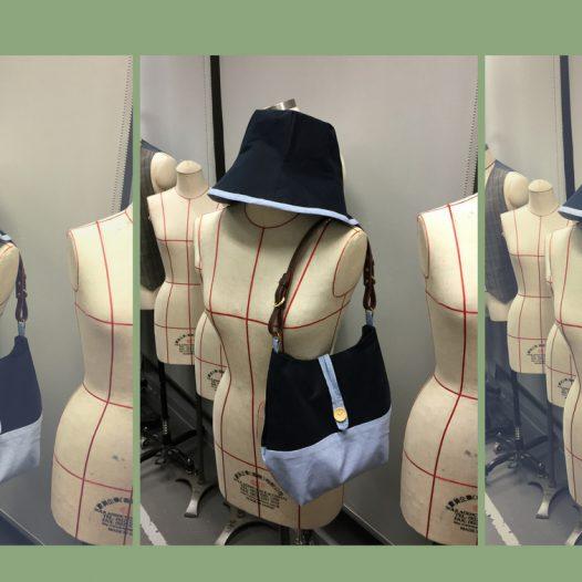 漁夫帽及布袋裁製