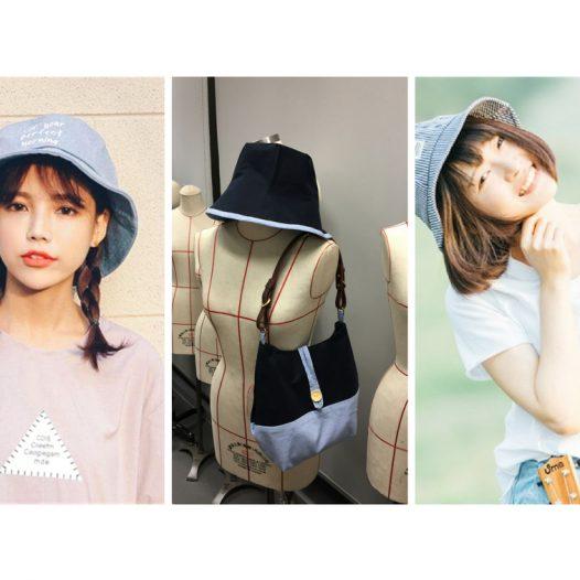 盛夏裁製坊 漁夫帽+布袋