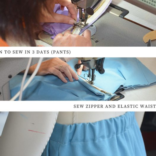 A Snapshot of Learn to sew in 3 days (Pants)