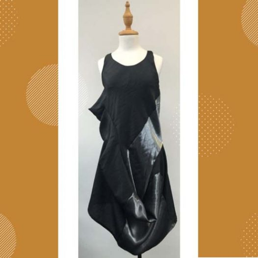 Dressmaking: Sleeveless Cocoon Dress