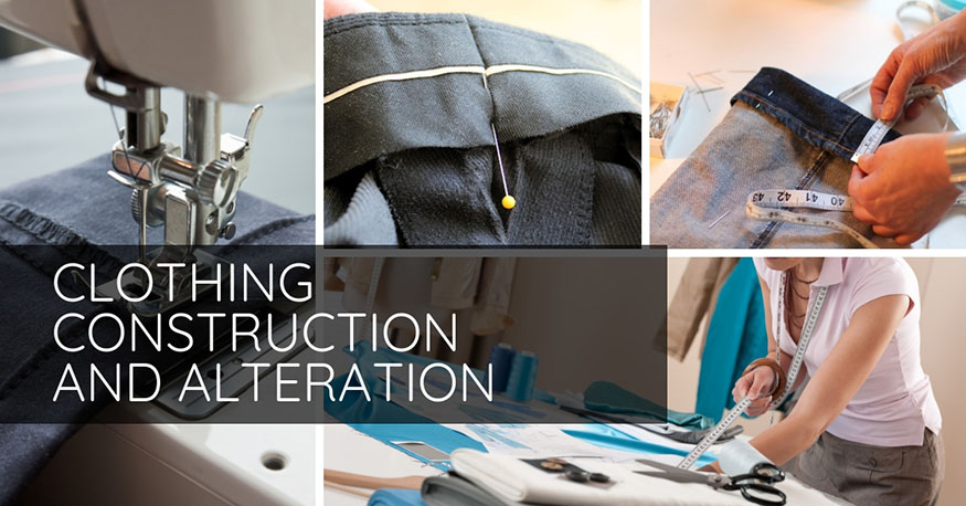 Clothing construction and alteration