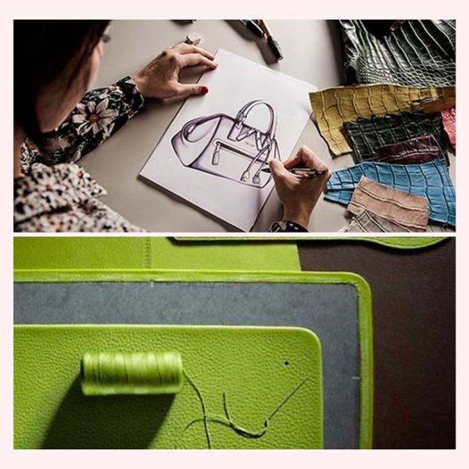 Leather Handbag Design and Making