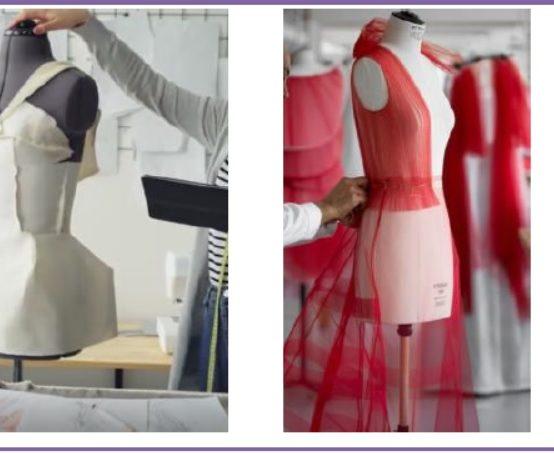 Sample Development Center – Garment Draping Workshop