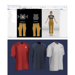Browzwear 3d Fashion Software Almost Full Clothing Industry Training Authority