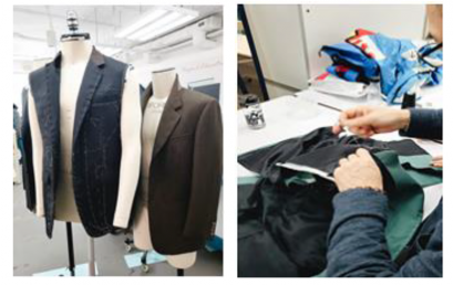 Sample Development Center – Men's Tailoring Workshop