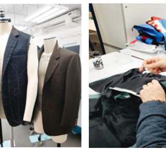 Sample Development Center – Men's Tailoring Workshop