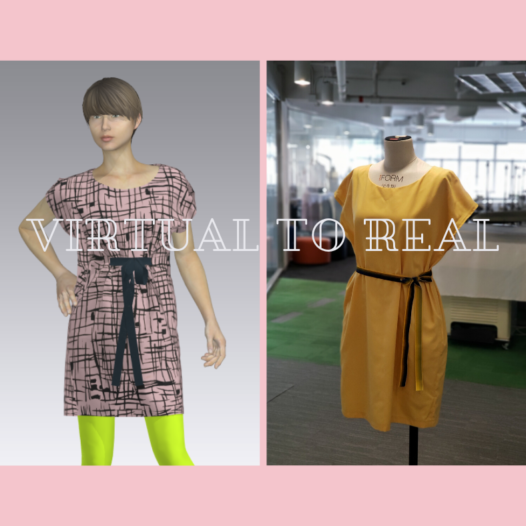 Stitch Your Design: Virtual X Real