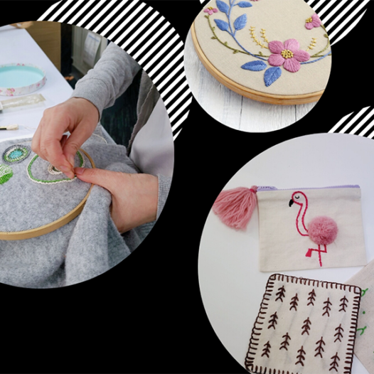 Creative Hand Embroidery Workshop