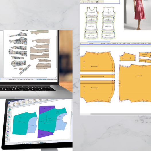 Certificate in Computerised Pattern Making for Fashion (Top) (Part-time)