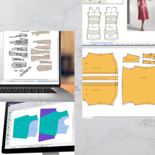 電腦服裝紙樣製作(上身)證書(兼讀制)