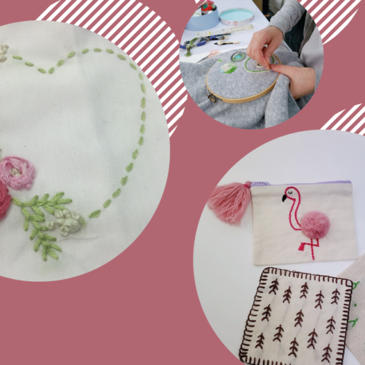 [Online course] Hand-stitch design project