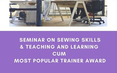 Seminar on Sewing Skills & Teaching and Learning cum Most Popular Trainer Award