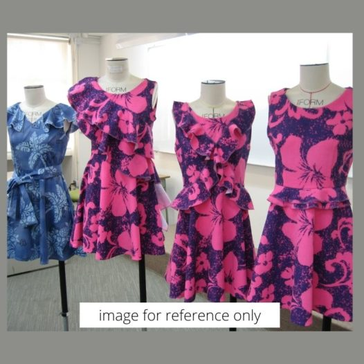 [New Course] Dressmaking I: Fashion Garment (Given style)